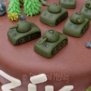 Detail tanků