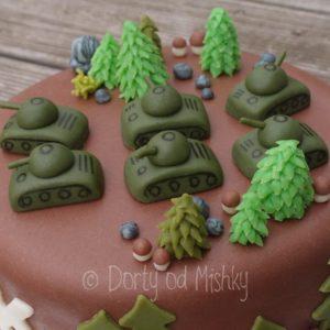 Tanky na dortu