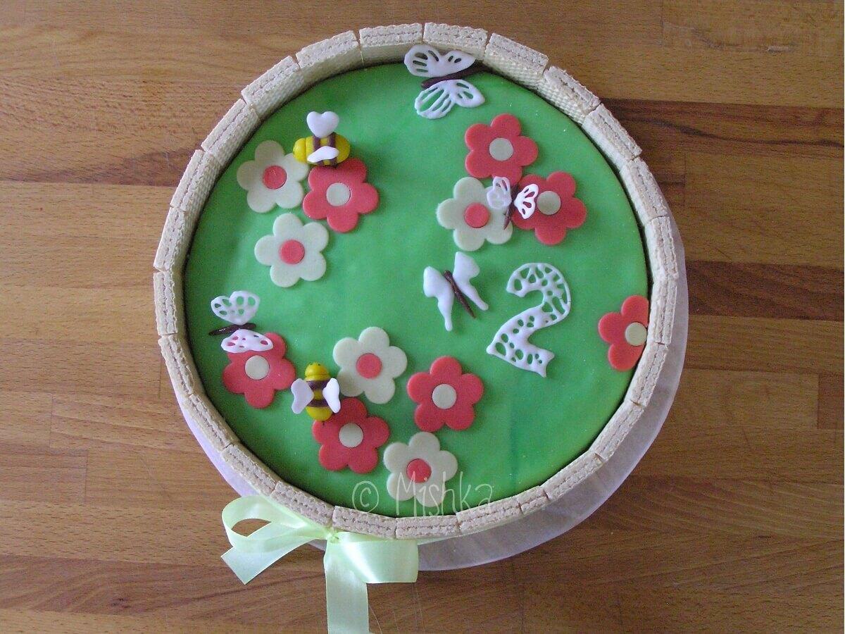 Další zahrádkový dort