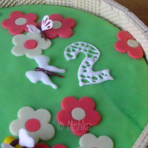 Dort - Zahrádka se sušenkami, detail dvojky