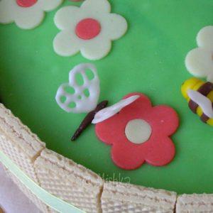 Dort - Zahrádka se sušenkami, detail motýla