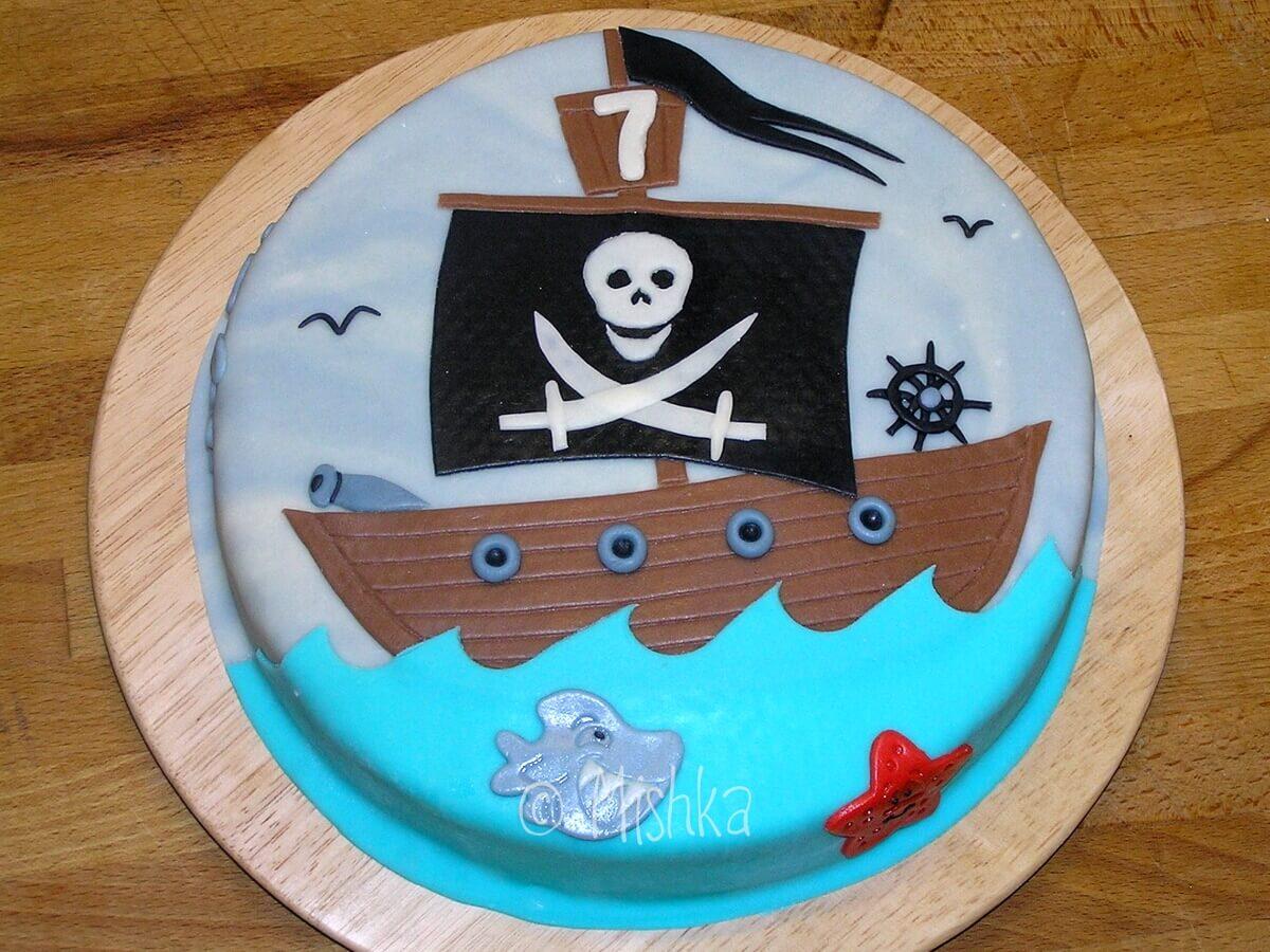 Pirátská loď 2. verze