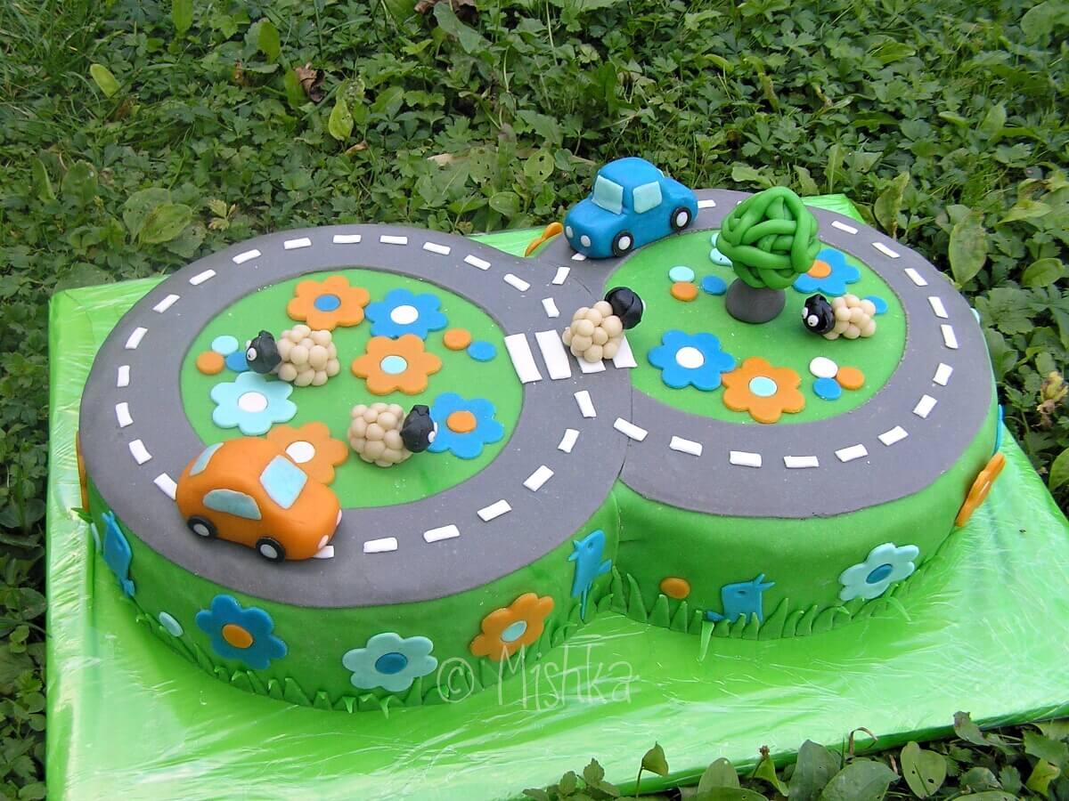 Studánkový dort k 8. narozeninám