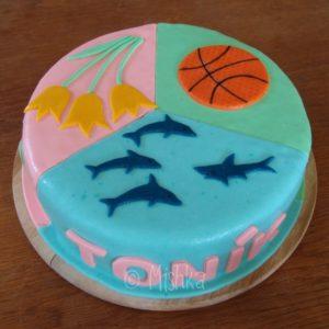 Třetina dortu pro Toníka