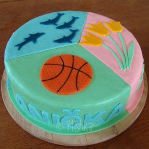 Třetina dortu pro Aničku
