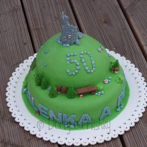Turistický dort
