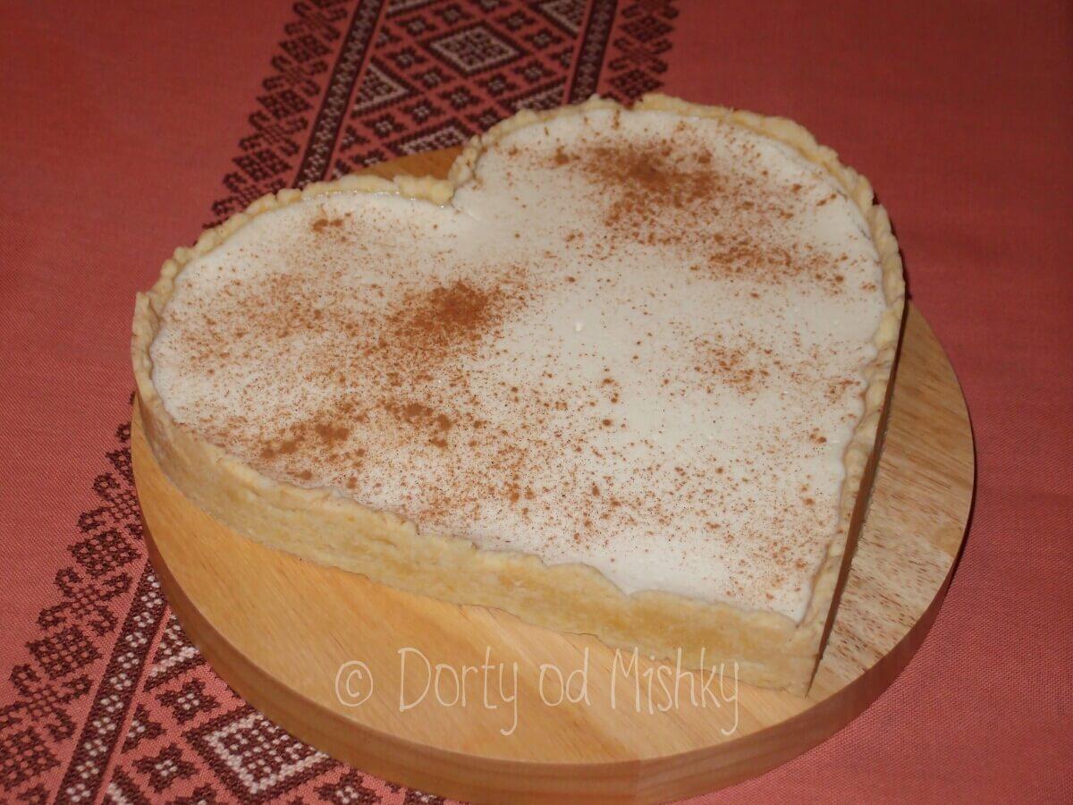 Cheesecake ve tvaru srdce