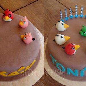 2x dort Angry birds