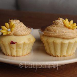 Cupcakes se žlutou kytičkou