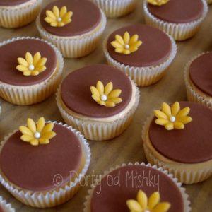 Potahované cupcakes