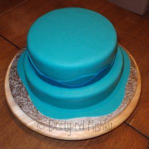 Seskládaný dort