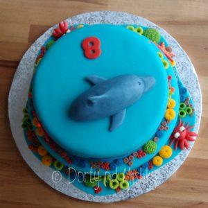Dort s delfínem, shora