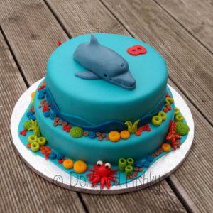 Dort s delfínem