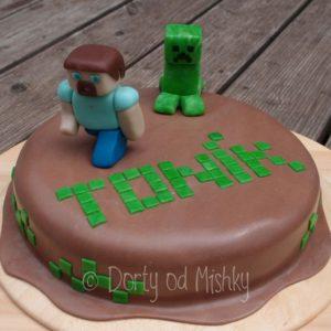 Minecraft dort pro Toníka