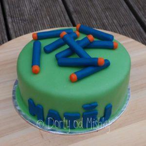 Narozeninový dort pro Matěje