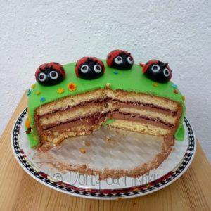 Rozkrojený dort